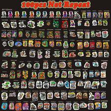 100pcs Random Ed Roth Big Daddy Wall Graffiti Vinyl Decal Rat Fink Stickers