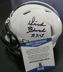 Dick Hoak Signed Penn State Nittany Lions Mini Helmet w/Beckett COA AA45710 BAS