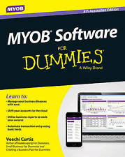 MYOB Software for Dummies 8th Australian Edition by Veechi Curtis (English) Pape