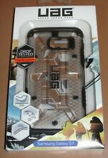UAG Samsung Galaxy S7 Feather Light Rugged ICE BLACK Case NEW