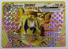Raticate BREAK - 89/122 XY BREAKpoint - Ultra Rare Pokemon Card