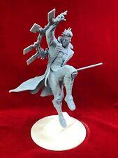 """X-Men Gambit """"Action Pose"""" Fan Art Resin Figure Model Kit 1/8 scale."""