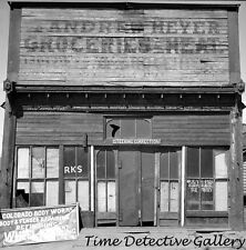 Andrew Meyer Grocery Store, Leadville, Colorado - 1941 - Historic Photo Print