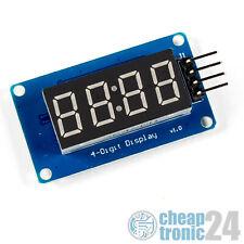 TM1637 LED 4 Ziffern 7 Segment Anzeige Display Uhr Modul Arduino Raspberry