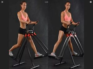 Capital Sports Crosswalker Air Walker Elliptical Cross Trainer Folding
