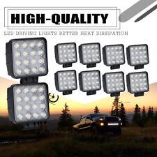 10X 48W LED Work Light SPOT Tractors Driving Fog Lamp Square Bar 4INCH Spot