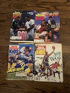 1989-92 Sports Illustrated for Kids Michael Jordan Dan Marino Uncut Sheets Lot 4