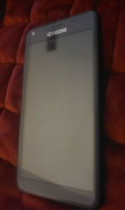 Kyocera Hydro Reach C6743 8GB Blue Boost Mobile Phone for parts only