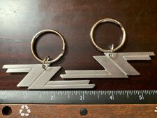 ZZ TOP Key Chain Set of 2 Solid Metal Durable Rock Texas 3.25 inches Wide