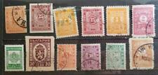 BULGARIA Postage Due Stamp Lot MH Used T106