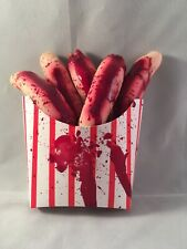 Bloody Severed Fingers French Fries Halloween Prop Horror Carnival Movie New #1