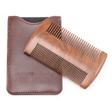 Natural Sandalwood Comb Beard Comb Pocket Size Comb Massage Hair Care Comb HA