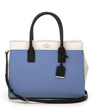 Kate Spade CAMERON STREET CANDACE SATCHEL Tote Tile blue Carryall $378 NWT