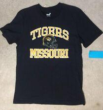 Missouri Tigers Black Cotton Shirt  - Child's Size XL 18 - NEW