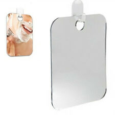 Anti Fog Shower Mirror Bathroom Fogless Fog Free Mirror Washroom Travel Silver