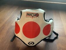 Taekwondo Karate Sparring Gear Small Youth Vest Chest Guard Macho Martial Arts