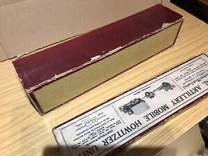 Britain's Ltd #1727 Mobile Howitzer Unit  Original Empty Box ⭐️⭐️⭐️