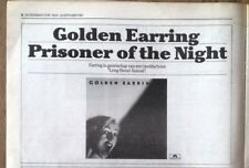 GOLDEN EARRING 'Prisoner' 1980 Press ADVERT from OOR Dutch magazine 12x8 inches