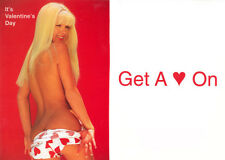 LOT OF 10 VALENTINES  CARDS WITH ENVELOPES - GET A HEART ON  - NOS #PW-GCV