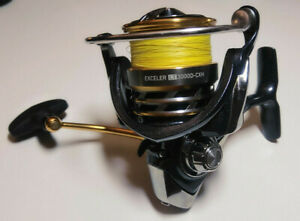 Daiwa Exceler LT 3000D-CXH High Speed 6.2:1 used once with 10Lb braid