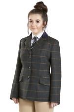 FireFoot Fewston Ladies Tweed Riding Hacking Jacket Showing, Womens Sizes