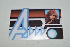 Marvel Heroclix Avengers Assemble Black Widow  ID Card AVID-001