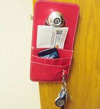 Doorknob Organizer ~ Keeps Keys & Other Take-Along Items Handy Near Your Exit