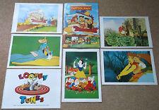 6 cartoni animati POSTER, FLINTSTONES TOM & Jerry Looney Tunes Biancaneve Peter Rabbit