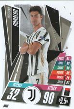 Match Attax 20/21 - Cristiano Ronaldo Update Base Card - Juventus