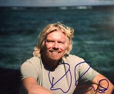 Richard Branson signed autographed 8x10 photo