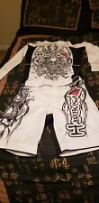 Hayabusa Classic MMA BJJ Rashguard L and Shorts 34-36