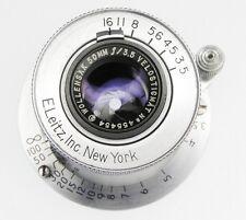 Wollensak 50mm f3.5 Velostigmat Leica SM  #455454 .......... Very Rare !!