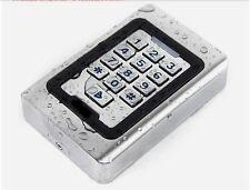 NSEE S600EM RFID Reader Wiegand 26 Bit Metal Wired Keypad Waterproof Gate Opener