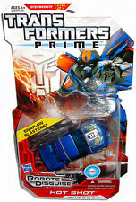 Transformers Prime Animated RID Deluxe Hot Shot Action Figure MIB Hasbro Toy