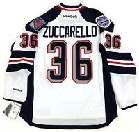 MATS ZUCCARELLO NEW YORK RANGERS STADIUM SERIES REEBOK NHL PREMIER JERSEY NEW