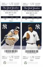 Alex Rodriguez Home Run 590 Yankees 5/31 Ticket Stub HR