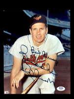 Brooks Robinson PSA DNA Coa Hand Signed 8x10 Photo Autograph
