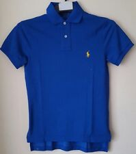 BNWT POLO RALPH LAUREN MENS CUSTOM SOLID MERCERISED POLO SHIRT/POLO TOP XSMALL