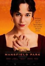MANSFIELD PARK Movie POSTER 27x40 Frances O'Connor Jonny Lee Miller Alessandro