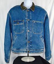 Vintage RRL double RL Made in Usa Trucker Denim Jacket Jeans. Sz Medium M