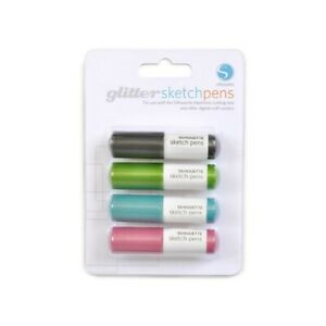 Sketch Pens Zeichenstifte Glitter Farben für SILHOUETTE CAMEO u.a.