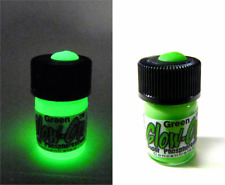 Glow-On GREEN Glow Paint For Gun Sights, Fishing Lures 2.3 ml  vial, Bright!