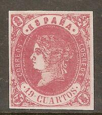 1862 EDIFIL 60* NUEVO