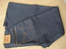 Levi's Bellbottom Mens Size Measured 30x33.5 Blue New Made in U.S.A.