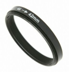 Male 46mm to Female T2 42mm Mount Adapter Stepping Ring (UK Stock) BNIP
