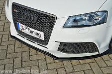 Azione speciale spoiler spada front spoiler labbro cuplippe da ABS per Audi rs3 8p