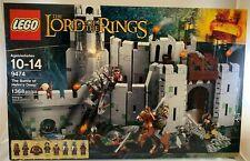 SEALED 9474 LEGO Lord of Rings BATTLE HELMS DEEP Uruk-hai minifigure 1368 pc set
