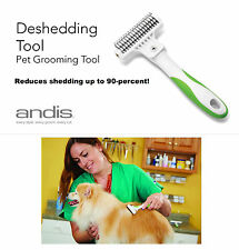 ANDIS DESHEDDING STRIPPER Dematting Rake TOOL DOG Mat Shed De-Matting ALL BREED
