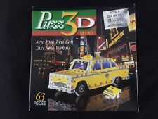 Wrebbit  Puzz 3D Mini New York Taxi Cab Taxi New-Yorkais 63 Pieces