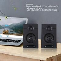 USB Wired Computer Speakers With Subwoofer 3.5mm Jack For Desktop Laptop Phone